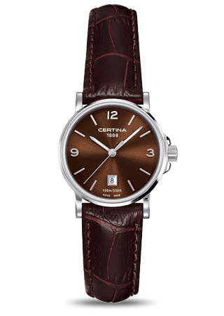 Certina C0172101629700 : DS Caimano Lady Brown