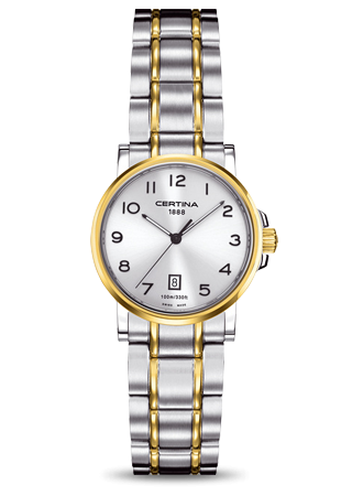 Certina C0172102203200 : DS Caimano Lady Two Tone