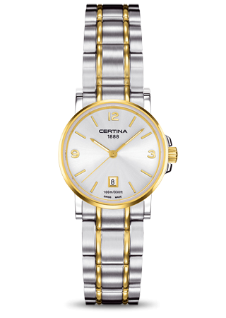 Certina C0172102203700 : DS Caimano Lady Two Tone