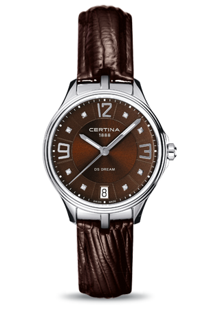 Certina C0212101629600 : DS Dream Lady Brown