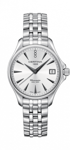 Certina C032.051.11.036.00 : DS Action Diamonds 33.8 Stainless Steel / Silver