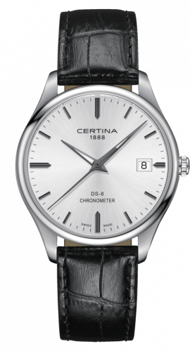 Certina C033.451.16.031.00 : DS-8 Chronometer Stainless Steel / Silver / Strap