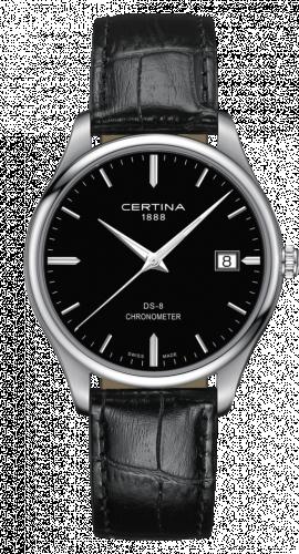 Certina C033.451.16.051.00 : DS-8 Chronometer Stainless Steel / Black / Strap