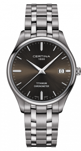 C033.451.44.081.00 : Certina DS-8 Chronometer Titanium / Grey