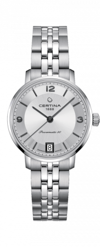 Certina C035.207.11.037.00 : DS Caimano Powermatic 80 Stainless Steel / Silver / Bracelet