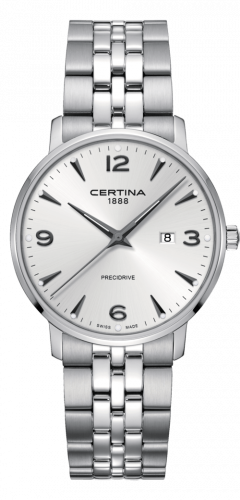 Certina C035.410.11.037.00 : DS Caimano 39 Stainless Steel / Silver / Bracelet