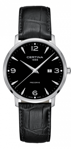 Certina C035.410.16.057.00 : DS Caimano 39 Stainless Steel / Black / Strap