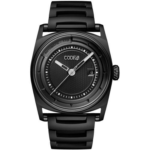CODE41 AN02-BK-ST-MET-BK : Anomaly-02 Black PVD / Black