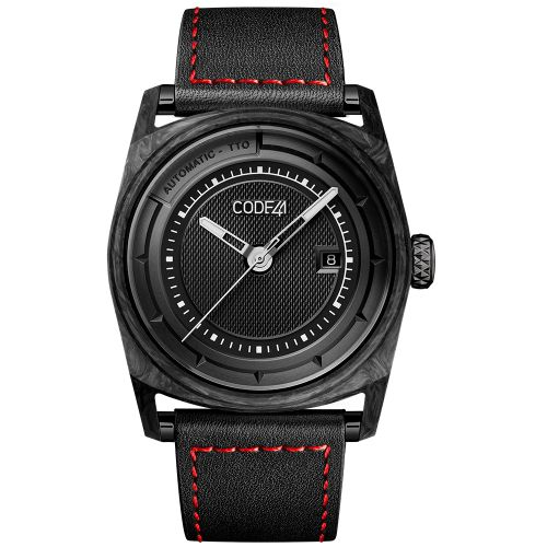 CODE41 AN02-CA-ST-LEA-COU-SP : Anomaly-02 Forged Carbon / Black