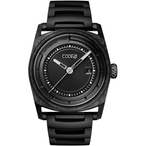 CODE41 AN02-CA-ST-MET-BK : Anomaly-02 Forged Carbon / Black
