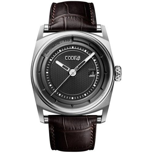 CODE41 AN02-IN-BK-ST-ALIG-BR : Anomaly-02 Stainless Steel / Black