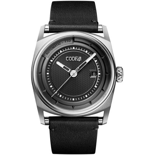 CODE41 AN02-IN-BK-ST-BK : Anomaly-02 Stainless Steel / Black