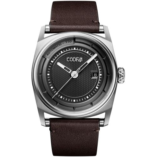 CODE41 AN02-IN-BK-ST-BR : Anomaly-02 Stainless Steel / Black