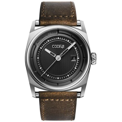 CODE41 AN02-IN-BK-ST-COU-VB : Anomaly-02 Stainless Steel / Black