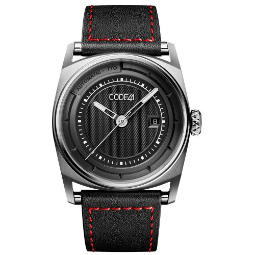 CODE41 AN02-IN-BK-ST-LEA-COU-SP : Anomaly-02 Stainless Steel / Black