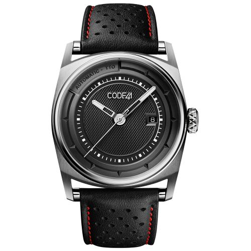 CODE41 AN02-IN-BK-ST-LEA-PER-COU-SP : Anomaly-02 Stainless Steel / Black