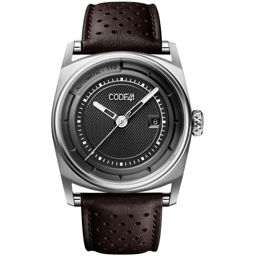 CODE41 AN02-IN-BK-ST-PER-BR : Anomaly-02 Stainless Steel / Black