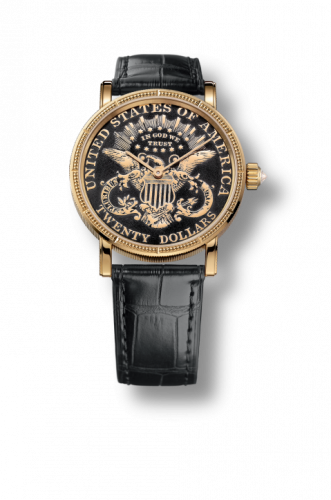 Corum C293/02910 : Coin Watch Automatic Gold $20 Double Eagle PVD