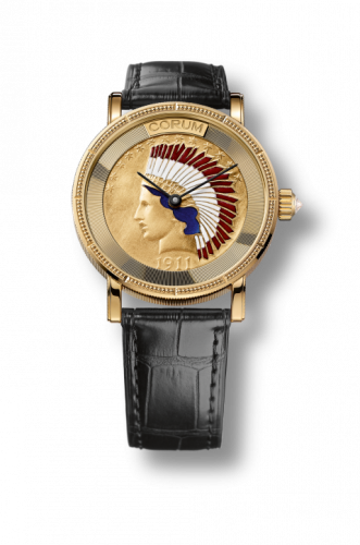 Corum C082/02355 : Coin Watch Automatic Indian Head