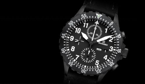 Damasko Chronographs DC66.black
