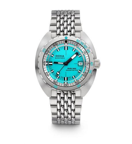 Doxa 821.10.241.10 : SUB 300 Aquamarine / Bracelet