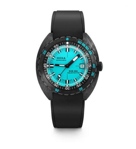 Doxa 822.70.241.20 : SUB 300 Carbon Aquamarine