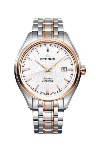Eterna 2945.53.61.1716 : Avant-Garde Date Two Tone / Silver / Bracelet