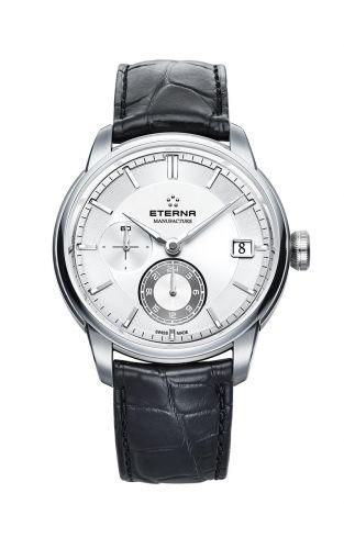 Eterna 7661.41.66.1324 : Adventic GMT Silver / Strap
