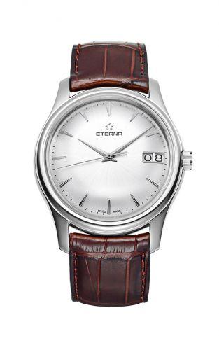 Eterna 7630.41.61.1185 : Vaughan Big Date Silver