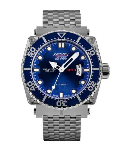 Formex 2100.1.7030.100 : Diver Automatic Blue / Bracelet