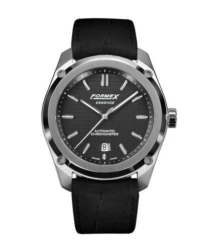 Formex 0330.1.6321.311 : Essence Automatic Chronometer Black / Croco