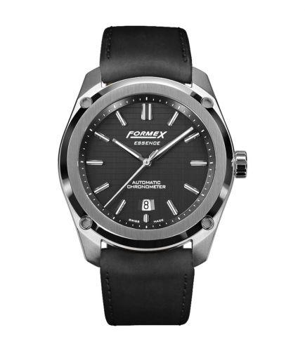 Formex 0330.1.6321.713 : Essence Automatic Chronometer Black / Calf