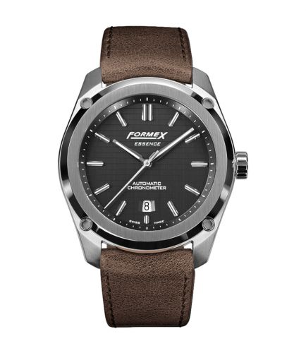 Formex 0330.1.6321.722 : Essence Automatic Chronometer Black / Calf