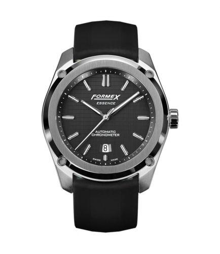 Formex 0330.1.6321.910 : Essence Automatic Chronometer Black / Rubber