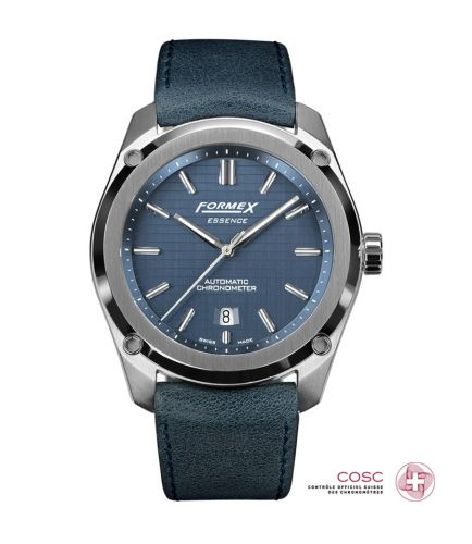 Formex 0330.1.6331.744 : Essence Automatic Chronometer Blue / Calf