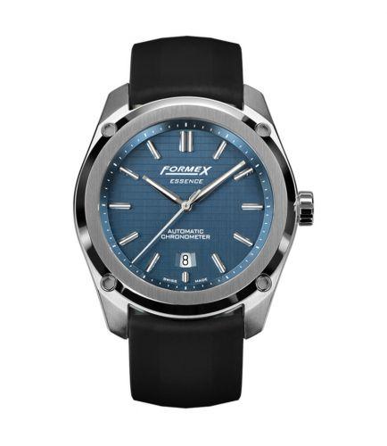 Formex 0330.1.6331.910 : Essence Automatic Chronometer Blue / Rubber