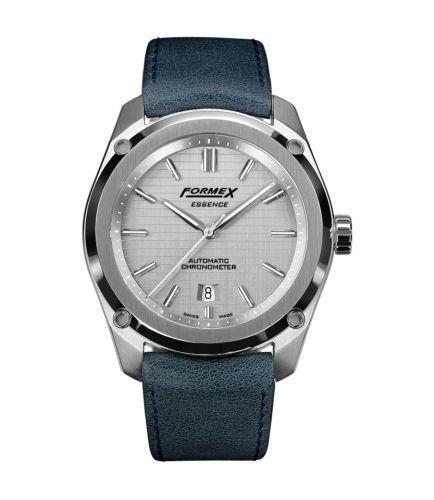 Formex 0330.1.6341.744 : Essence Automatic Chronometer Silver / Calf