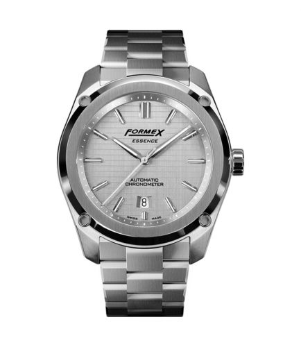 Formex 0330.1.6341.100 : Essence Automatic Chronometer Silver / Bracelet