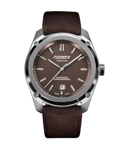 Formex 0330.1.6351.322 : Essence Automatic Chronometer Brown / Croco