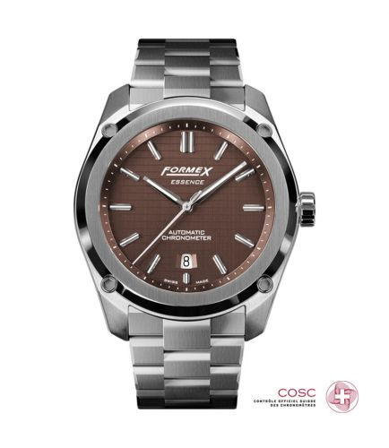 Formex 0330.1.6351.100 : Essence Automatic Chronometer Brown / Bracelet