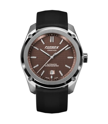 Formex 0330.1.6351.910 : Essence Automatic Chronometer Brown / Rubber