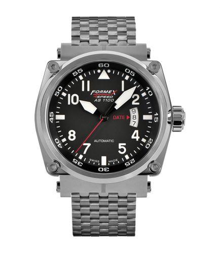 Formex 1100.1.7020.100 : Pilot Automatic Black / Bracelet