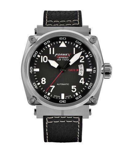 Formex 1100.1.7020.213 : Pilot Automatic Black / Calf