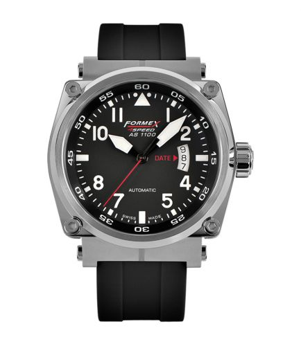 Formex 1100.1.7020.910 : Pilot Automatic Black / Rubber
