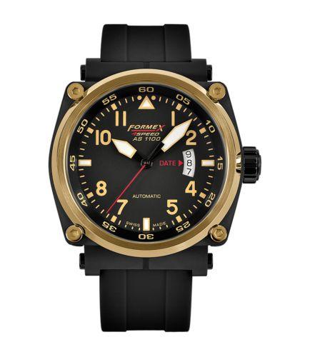 Formex 1100.6.7022.910 : Pilot Automatic Gold / Black / Rubber