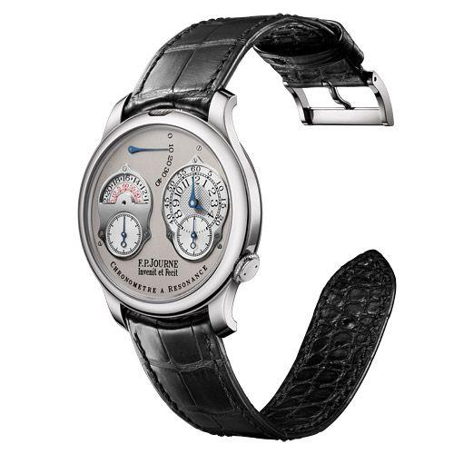 FP Journe 1499.3 CAR 40 PT GR : Souveraine Chronomètre à Résonance 40 Platinum / Grey