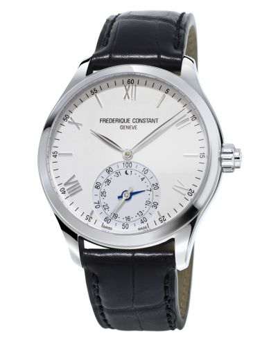 Frederique Constant FC-285S5B6 : Horological Smartwatch Silver Dial / Strap