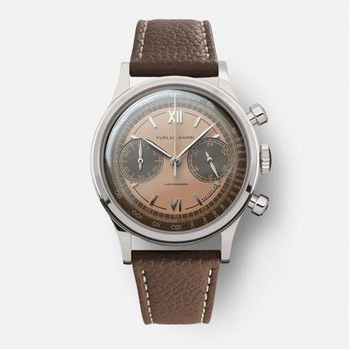 Furlan Marri 1031-A : Chronograph Havana Salmon