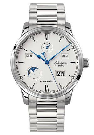 Glashütte Original 1-36-02-01-02-70 : Senator Excellence Perpetual Calendar Stainless Steel / Silver / Bracelet