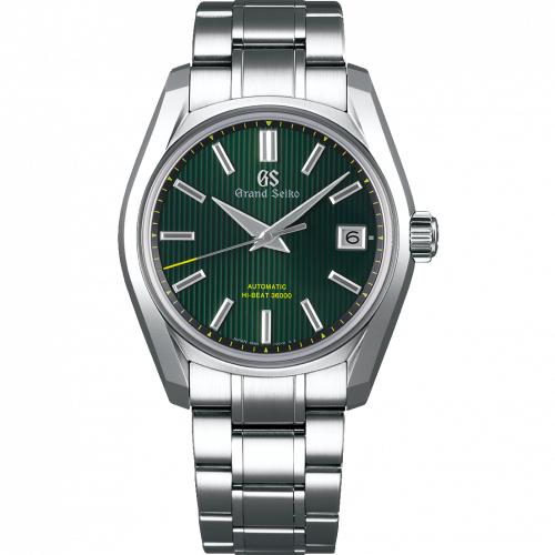 SBGH261 : Grand Seiko Automatic Date Stainless Steel / Green / Bracelet / 62GS